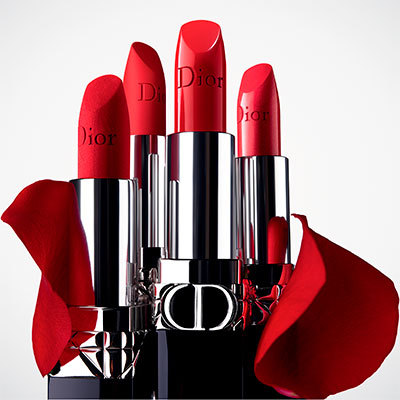 Rouge Dior<br>Barra de labios recargable color couture - confort y larga duración satinado