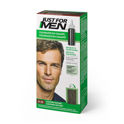 JUST FOR MEN CASTAÑO OSCURO 30 ML