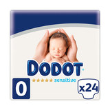 DODOT SENSITIVE R-NACIDO T-0 -3KG 24 UN