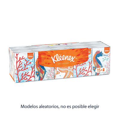 KLEENEX PAÑUELOS COLLECTION MINI L-15