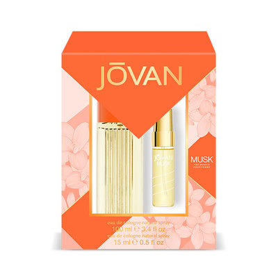 JOVAN SET MUSK WOMAN EDT 100 VAP+EDT 15V