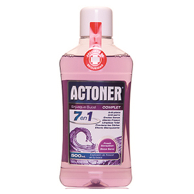 ACTONER ENJUAGUE BUCAL COMPLET 500 ML