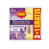 ORION PINZA ANTIPOL TOTAL LAVANDA 3X4GR