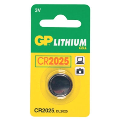 GP G339 PILA DE LITIO CR2025 3V 160 MAH