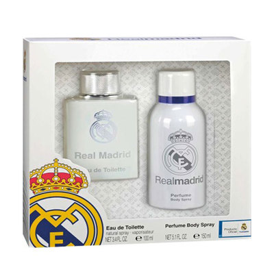 REAL MADRID SET EDT 100 VP Y DEO SP