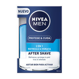 NIVEA F MEN MASAJE LOC 2 EN1 REFR 100 ML
