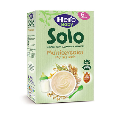 HERO BABY ECO PAP 5 CEREALES 300GR