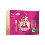 OD BENETTON SET COLORS PINK EDT 50 VAP