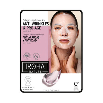 IROHA NATURE MASC PEEL OFF ANTIEDAD COLA