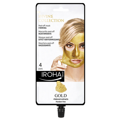IROHA NATURE MASC PEEL OFF ORO DIVINO