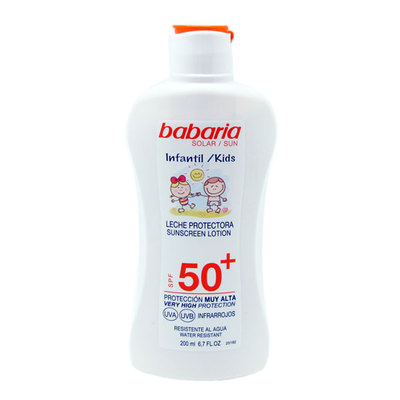 BABARIA LECHE SOLAR INFANT SPF50+ 200 ML