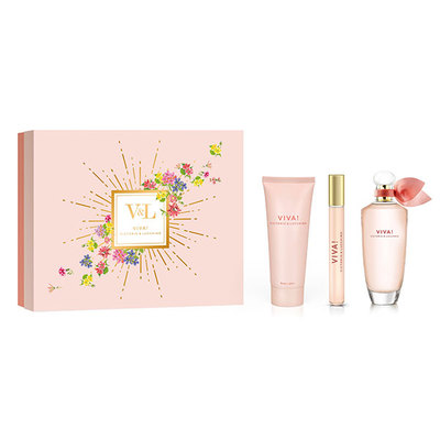 V L SET VIVA EDT 100 VAP+BODY 75+VIAL