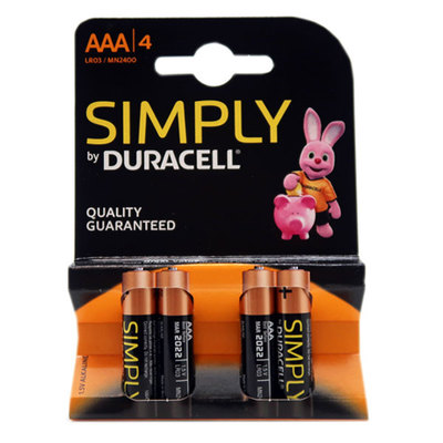DURACELL LR03 AAA L-4