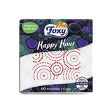 FOXY SERVILLETA HAPPY HOUR 30X30 2CA 60U