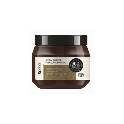 HELLO NATURE BODY BUTTER COCO 250 ML