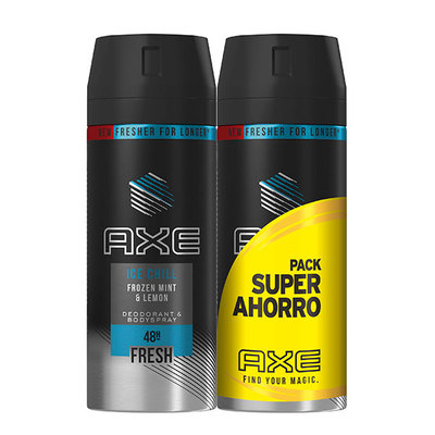 AXE DES DUPLO SPRAY ICE CHILL 150 ML