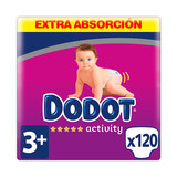 DODOT ACTIVITY EXTRA TALLA3 120 UDS