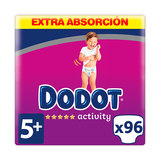 DODOT ACTIVITY EXTRA TALLA5 96 UDS