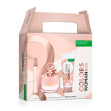 OD BENETTON SET COLORS ROSE EDT 50VP+B75