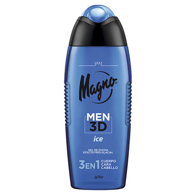 MAGNO GEL ICE 3D MEN 400 ML