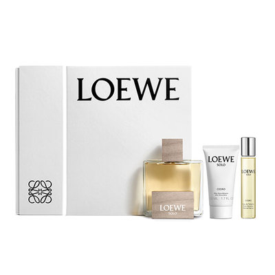 LOEWE SET SOLO CEDRO EDT 100 VAP+AFTER