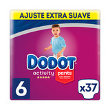 DODOT PANTS ACTIVITY EXTRA T6 37 UN