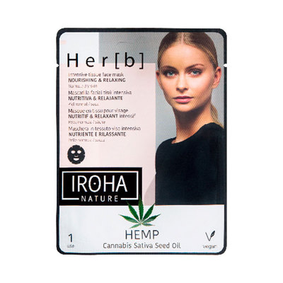 IROHA NATURE MASCARILLA TISU CANNABIS