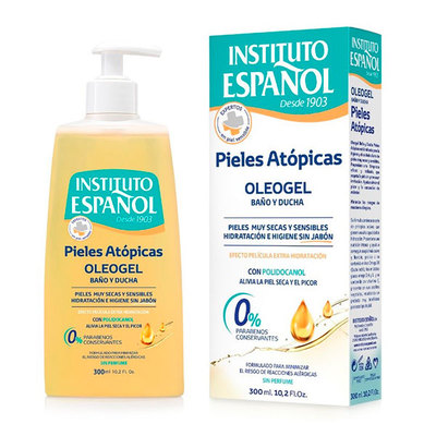 INSTITUTO ESP GEL PIEL ATOPICA OLEO 300M