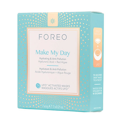 FOREO UFO MASCARILLA MAKE MY DAY 7 UNID
