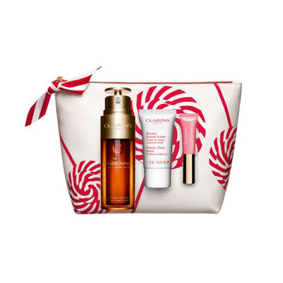 CLARINS SET DOBLE SERUM 50+BALS 15+LAB