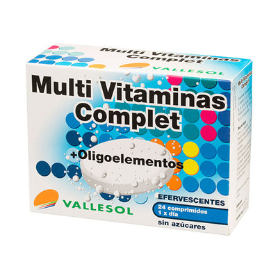 VALLESOL MULTIVITAMINAS -OLIG 24 COMP EF
