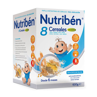 NUTRIBEN 8 CEREALES DIGEST 600 GR