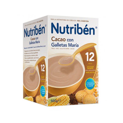 NUTRIBEN CACAO C-GALLETA MARIA 500 GR