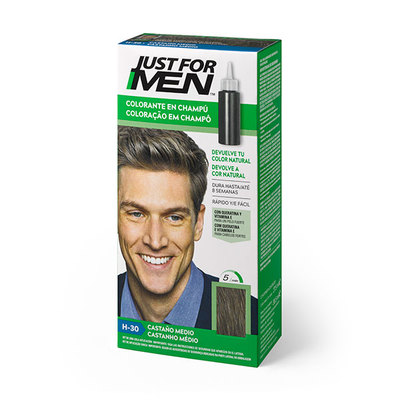 JUST FOR MEN CASTAÑO MEDIO 30 ML
