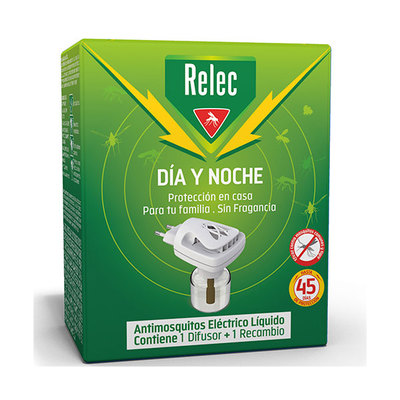 RELEC REPEL INSECTOS DIA NOCHE DISPOSIT